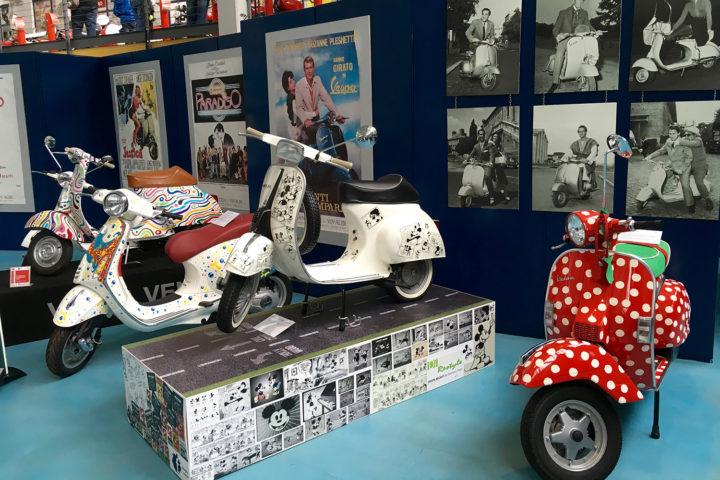 Pontederában, a Piaggio-múzeumban több száz fajta motor van kiállítva.