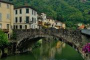 Bagni di Lucca Lucca fürdővárosa, egy nagyon helyes kisváros a folyóvölgyben.