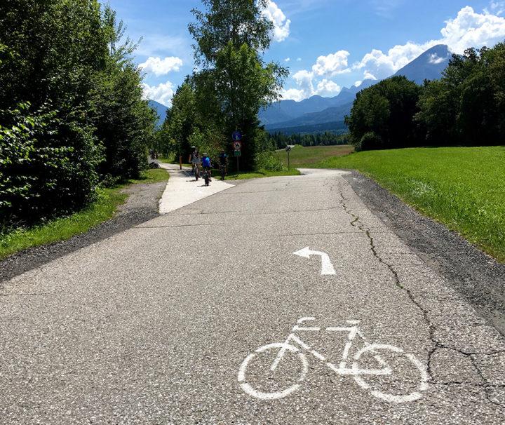 Kerékpárút a Dráva mentén