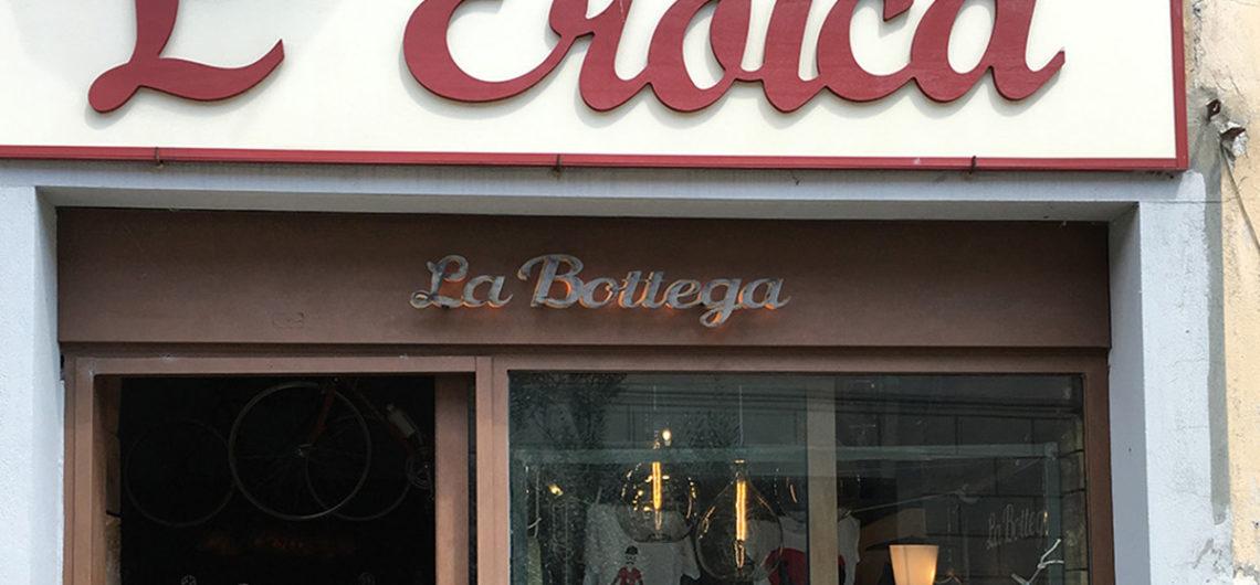 A L'Eroica boltja Gaiole in Chiantiban
