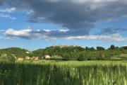 Monteriggioni vára - kerékpártúra Toszkánában
