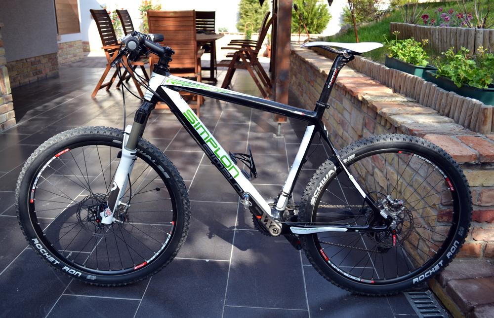 Simplon Razerblade, egy tipikus hegyi kerékpár