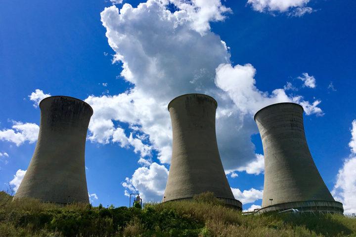 Larderello geotermikus erőművek