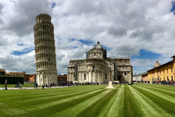 Pisa, Csodák tere