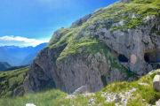 A Mangart-nyereg előtt, az utolsó alagút