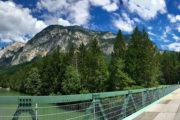 Kerékpáros híd Tarvisio mellett