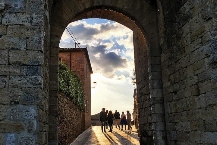 Monteriggioni városkapuja